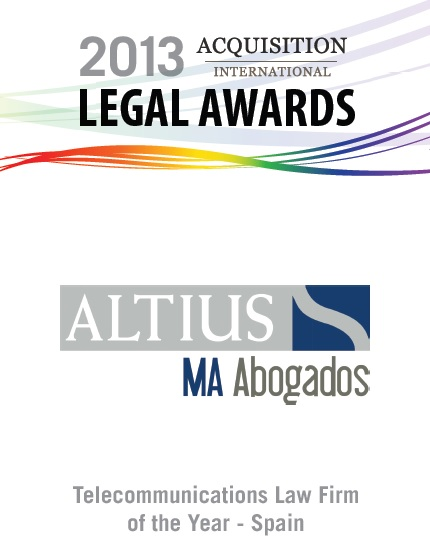 Altius MA Abogados, Acquisition International Legal Awards